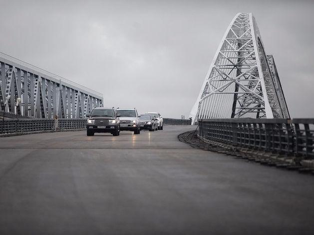 Как Шанцев и пообещал. Первый автомобиль проехал по Борскому мосту-дублеру