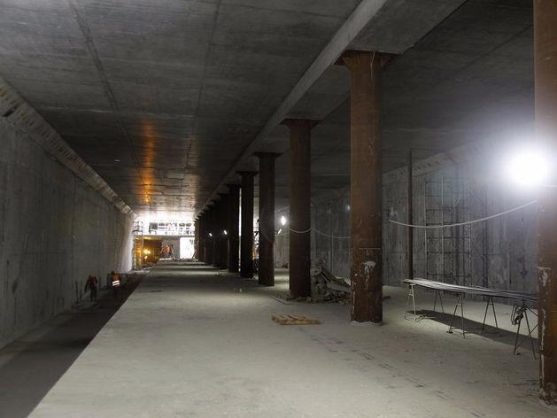 Новая станция метро в Нижнем Новгороде готова на 68%. ФОТО
