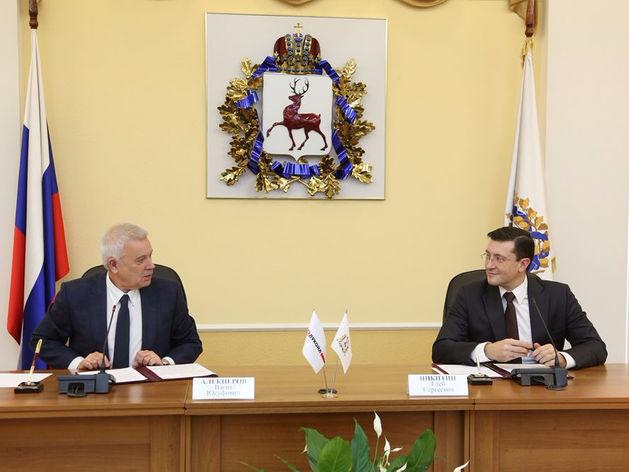 Клочай, Цыбанев и Шаронов комментируют подписание соглашения между регионом и «Лукойлом»