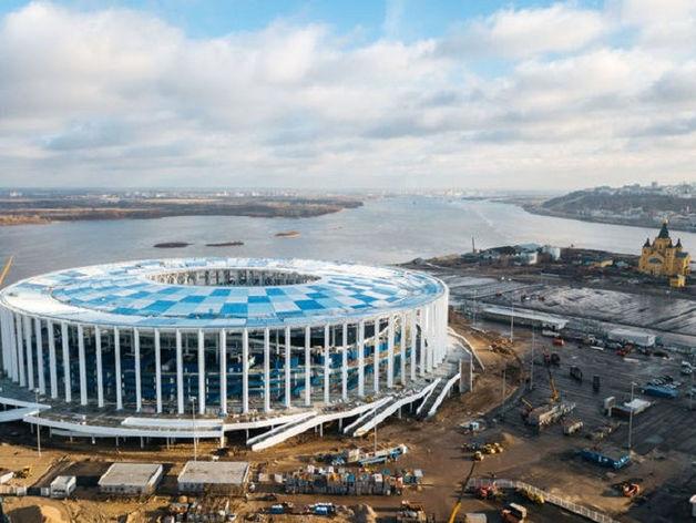 Эксперты FIFA и Оргкомитета «Россия-2018» посетят стадион в Нижнем Новгороде