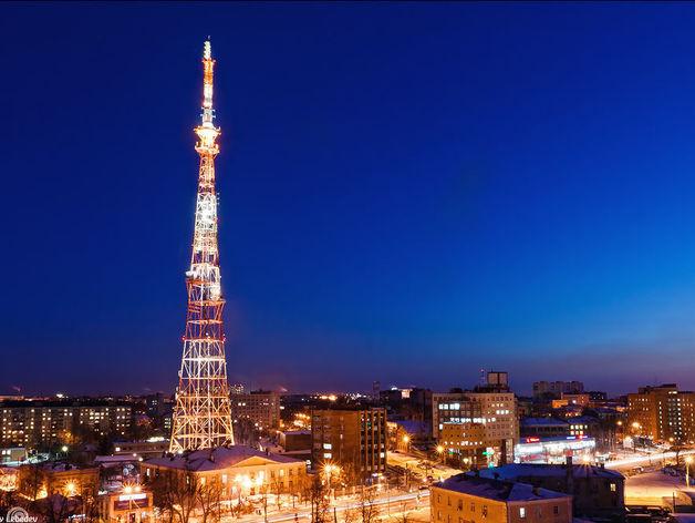 Художественную подсветку нижегородской телебашни смонтируют к концу весны
