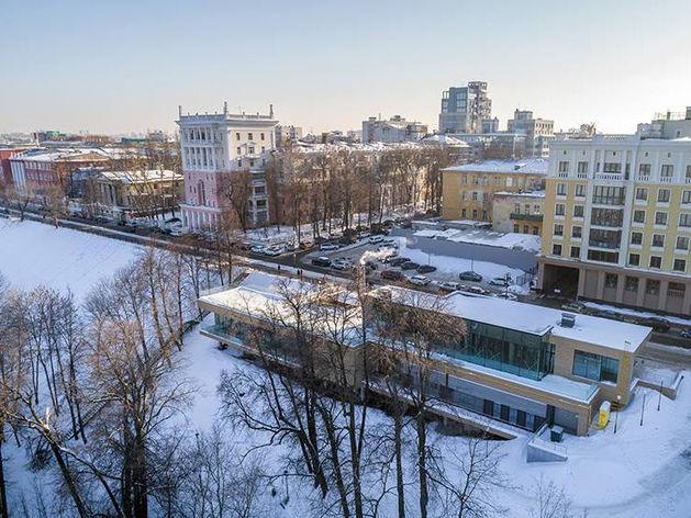 Ресторан Элады Нагорной возглавил городской рейтинг архитектуры