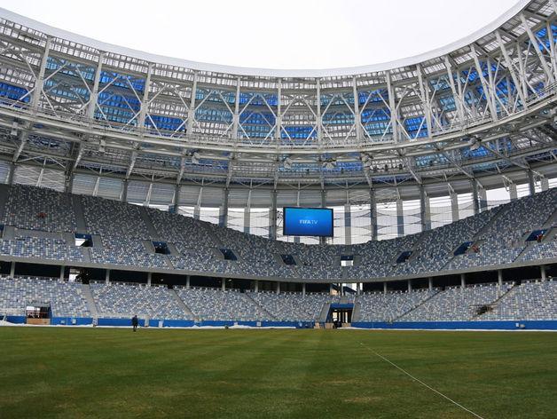 Делегация FIFA оценила ход подготовки «Стадиона Нижний Новгород» к ЧМ-2018