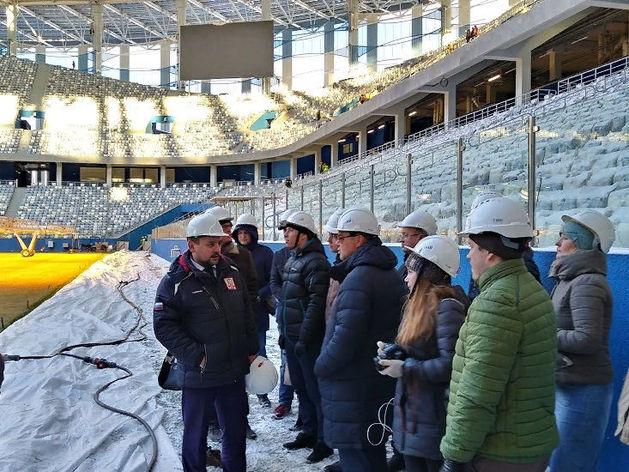 «Это грандиозный объект». Иностранцы оценили новый стадион в Нижнем Новгороде