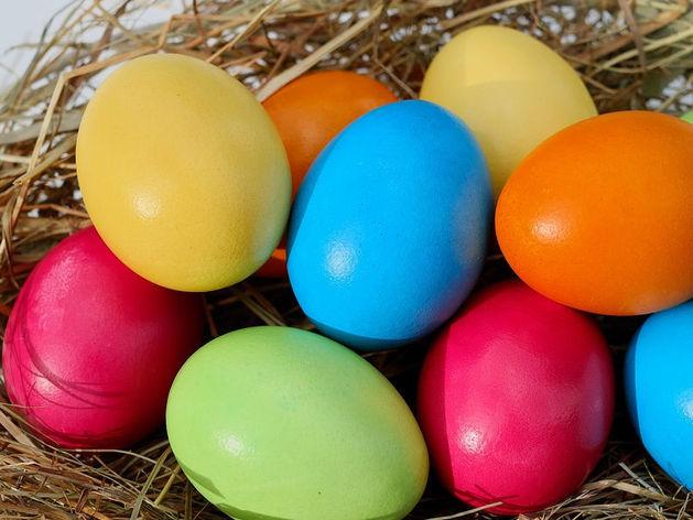 Яйца - ровные, куличи - без посыпки. Как не отравиться на Пасху. ЛАЙФХАК