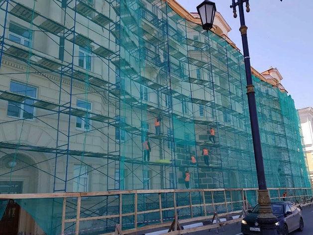 Добавить эстетики. В Нижегородской области начался ремонт фасадов МКД