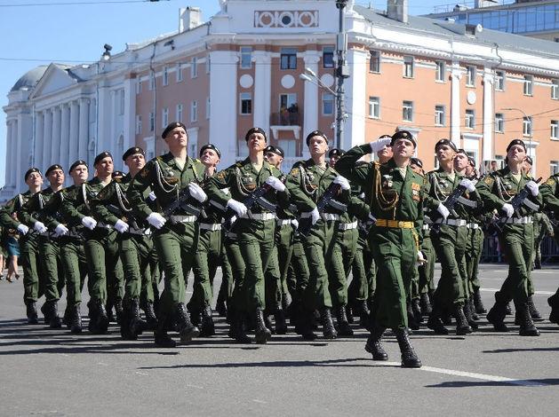 В Нижнем Новгороде прошел парад Победы. ФОТОРЕПОРТАЖ