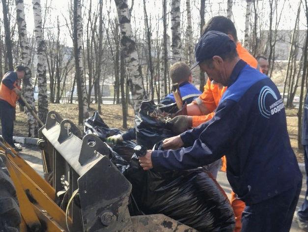 Вывезли 220 куб.м. мусора. Нижегородский водоканал завершил уборку на своих объектах