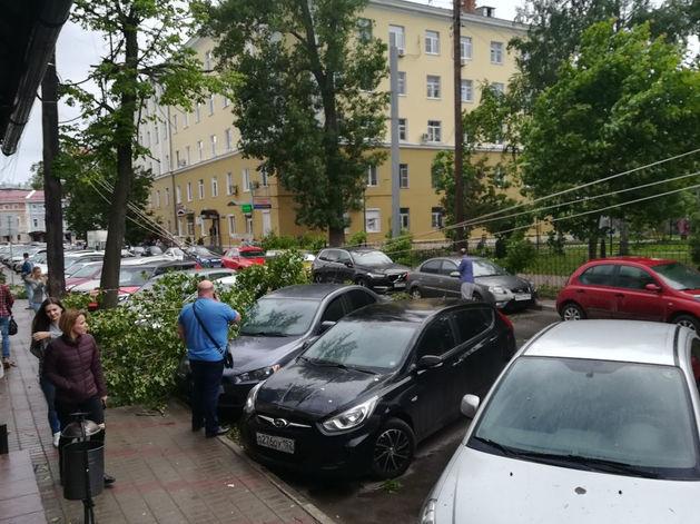 Ураган обошелся Нижегородской области в 100 млн руб.