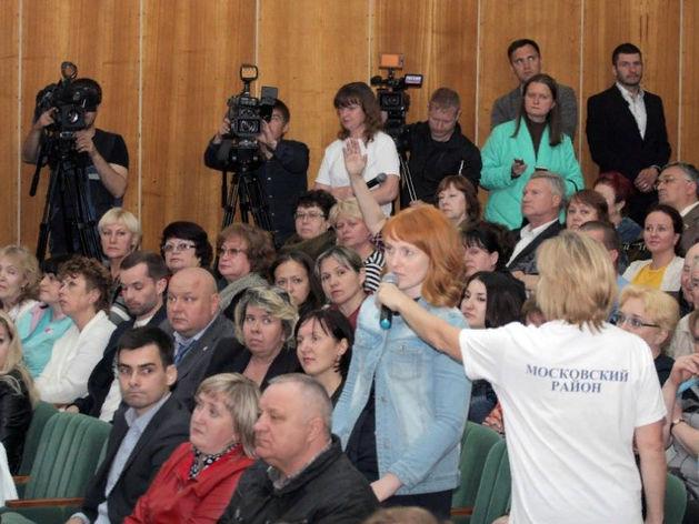 «Трудные и застарелые вопросы». Нижегородский мэр выслушал жителей Московского района