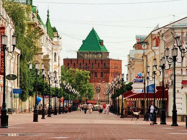 Главная улица Нижнего Новгорода признана лучшей торговой улицей России