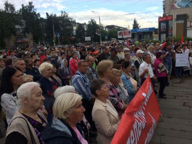«Плати, работай, умирай!». Нижегородцы в третий раз выступили против пенсионной реформы