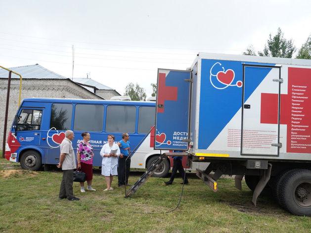 «Поезд здоровья» посетил Ленинский район Нижнего Новгорода