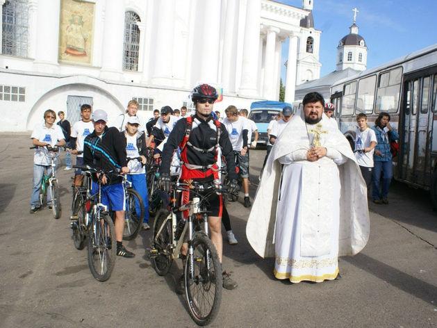 Велопробег православной молодежи «Дорога к храму»