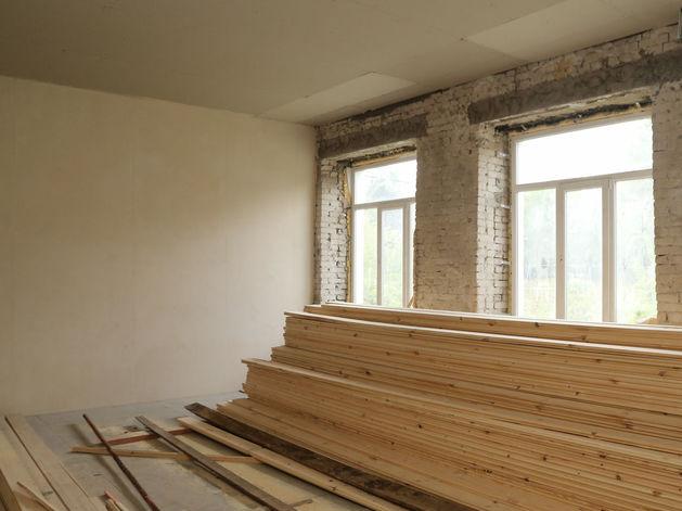 Дополнительные кабинеты и просторная столовая появятся в школе № 123 после капремонта