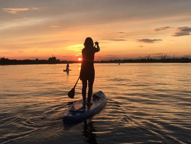 Модный отдых: куда в Нижегородской области можно сплавать на SUP-серфе?