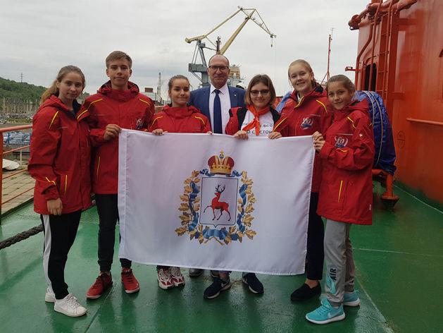 Ректор нижегородского политеха отправился с детьми на Северный полюс