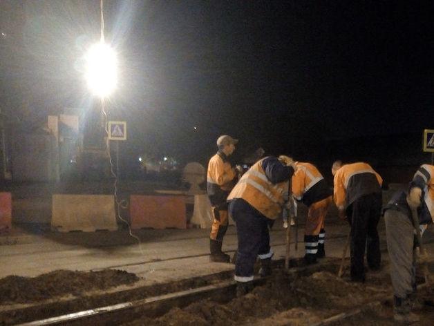 Шесть участков трамвайных путей в Нижнем Новгороде капитально отремонтированы этом году