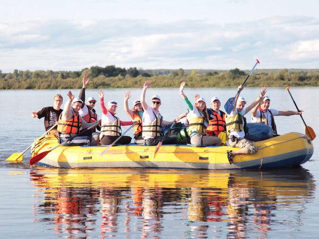 В «Газпром трансгаз Нижний Новгород» состоялся спортивно-туристический фестиваль РАФТFEST