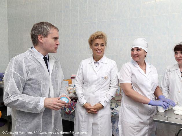 Автоматизированная линия по расфасовке творога начала работать на «Молочной кухне»