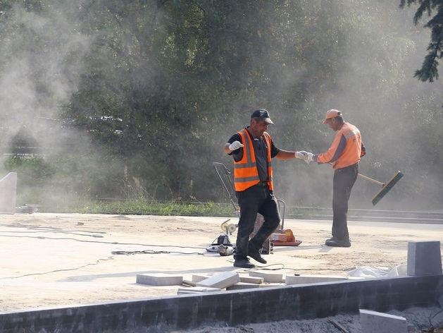 В Нижнем Новгороде готовятся к открытию еще двух фонтанов