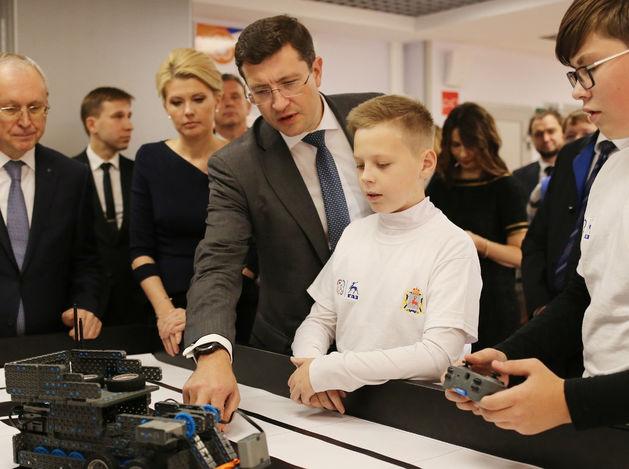 В инженеры с первого класса. Детский технопарк открылся при Горьковском автозаводе