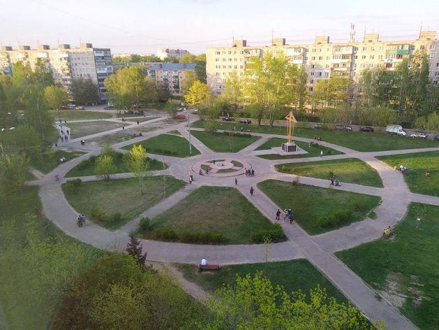 Сквер на ул. Прыгунова