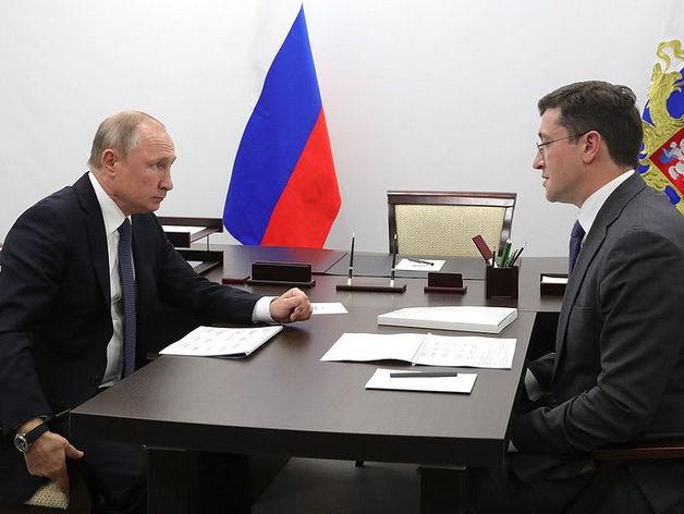 Президент с губернатором