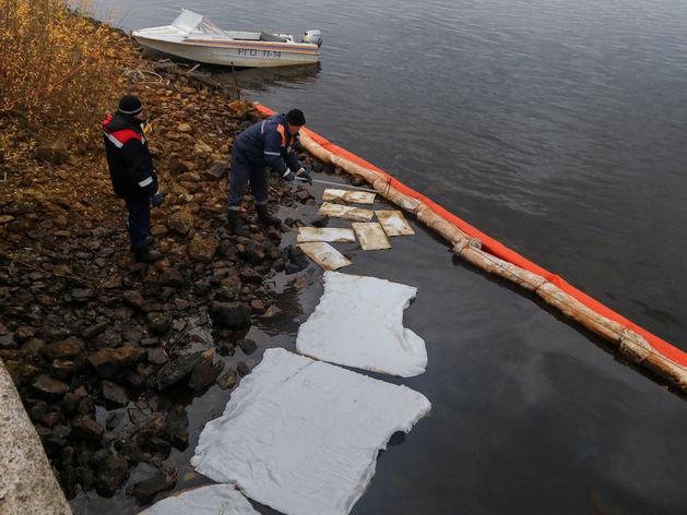 очищение реки