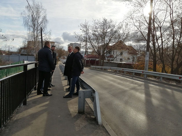 Мост через реку Левинку отремонтировали