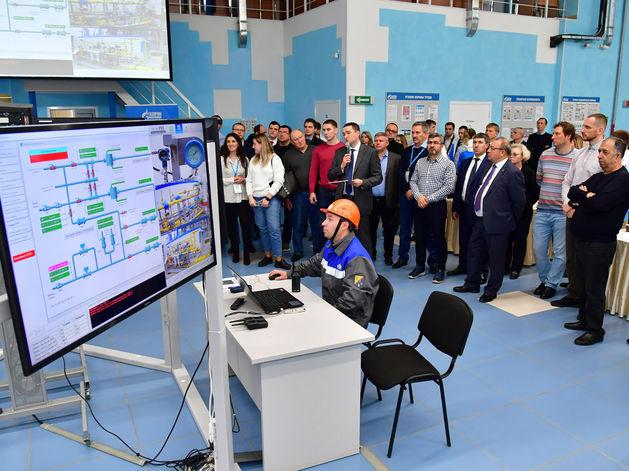 «Газпром трансгаз Нижний Новгород» показал газораспределительную станцию нового поколения