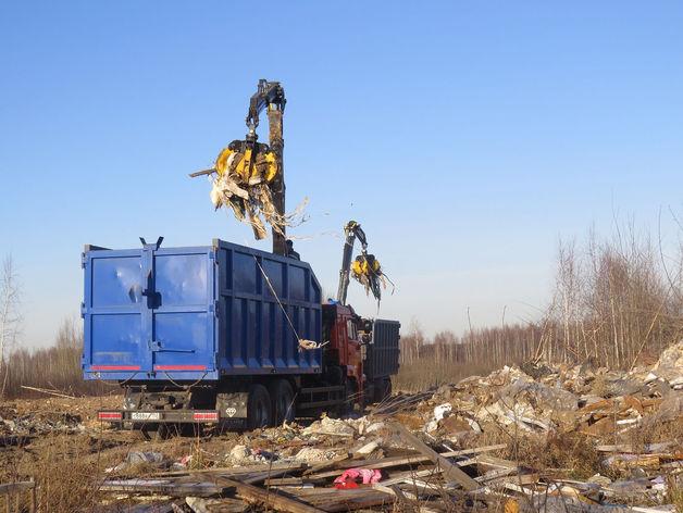 В Автозаводском районе приступили к ликвидации свалки у станции Петряевка