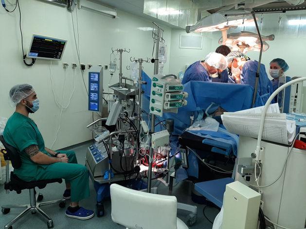 1000-ю операцию на сердце с подключением искусственного кровообращения провели хирурги