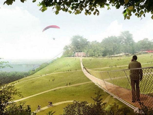 концепция развития парка «Швейцария»