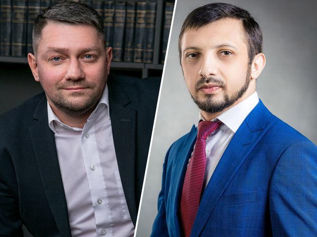 Слева - Денис Екишев, справа - Вреж Гулян