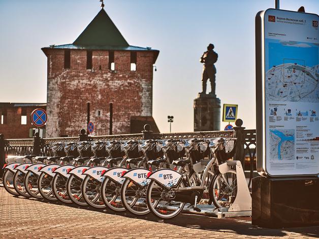 «Велобайк» продлил сезон проката в Нижнем Новгороде на один месяц