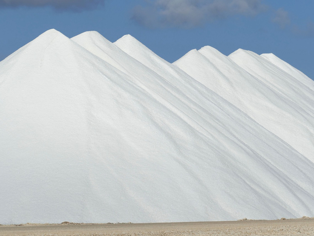 горы соли