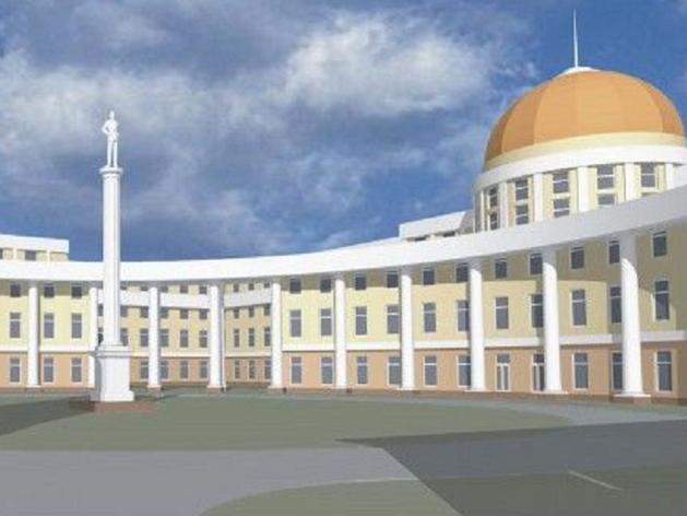 Дом правительства достроят