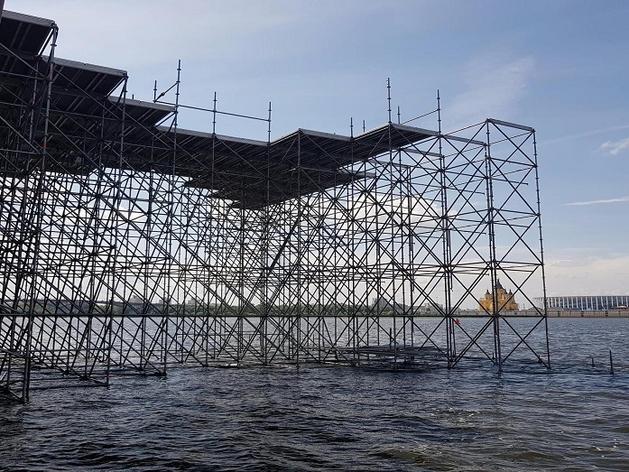 «В России таких еще не было». К 800-летию Нижнего Новгорода установят сцену на воде