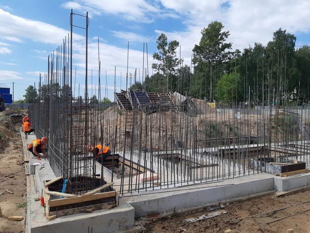 ФОК в поселке Ждановский будет построен к сентябрю 2022 года