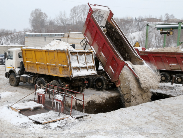 Новая станция снеготаяния откроется на Гребном канале в начале 2022 г.